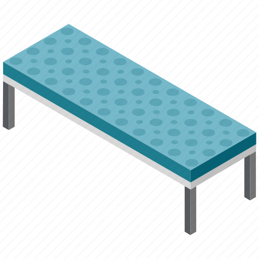 bench, garden furnishings, lawn bench, outdoor furniture, park bench icon