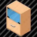 drawers, sideboard, bureau, nightstand, cabinet icon