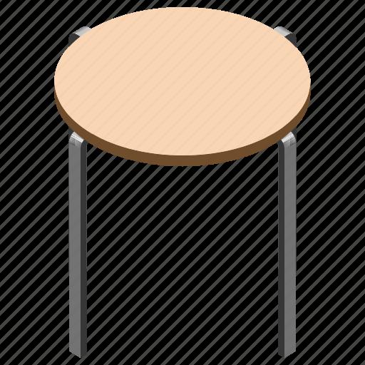 bar stool, counter stool, kitchen stool, stool table, wooden stool icon
