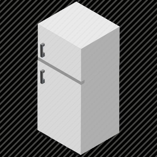 Fridge freezer, household appliance, fridge, refrigerator, food preservation icon