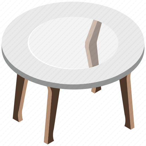 center table, coffee table, furniture, table, wooden table icon