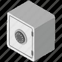 bank deposit, bank locker, safe box, bank vault, bank safe