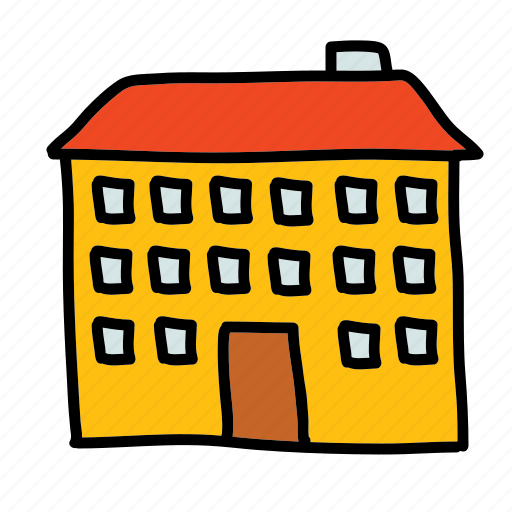 apartment, building, furniture, home, house icon
