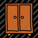 closet, cupboard, drawers, furniture, interior