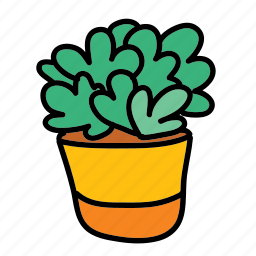 furniture, home, house, indoor, plant, pot icon