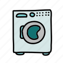 furniture, home, house, laundry, machine, washing icon