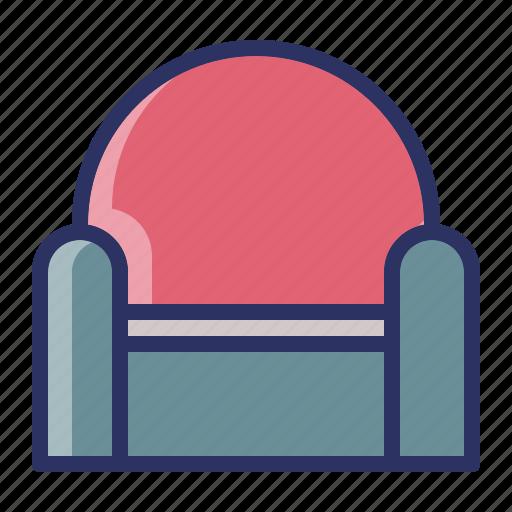 furniture, interior, seat, sofa icon