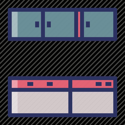cupboard, furniture, interior, kitchen icon