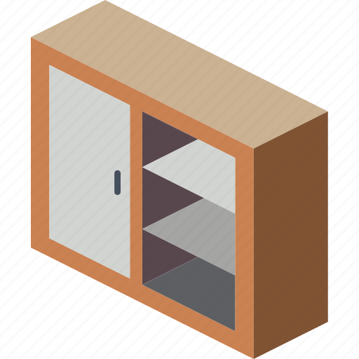 cabinet, furniture, household, iso, kitchen icon