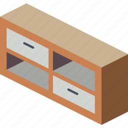 furniture, household, iso, lounge, stand, tv icon