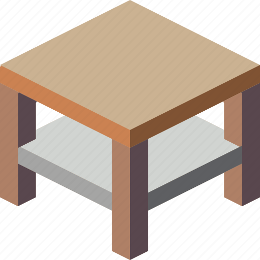 furniture, household, table icon