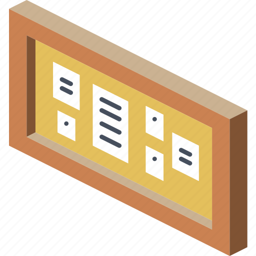 board, furniture, household, iso, lounge, notice icon