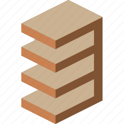 furniture, household, iso, lounge, shelves icon