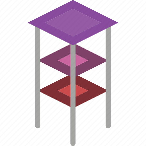 furniture, household, iso, table icon