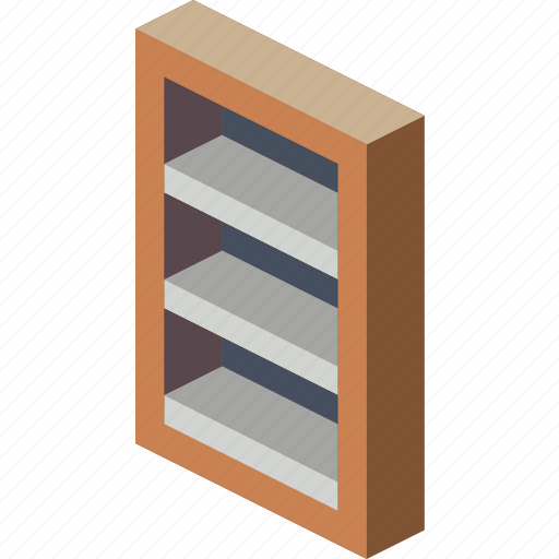 book, case, furniture, household, iso, lounge icon