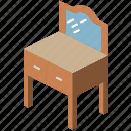 bedroom, dresser, furniture, household, iso icon