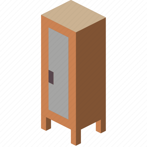 furniture, iso, locker icon