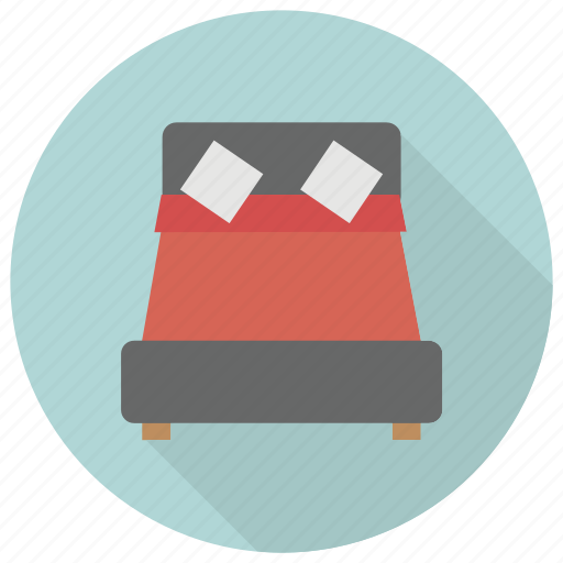 bed, furniture, interior icon