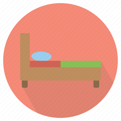 bed, furniture, interior, room icon