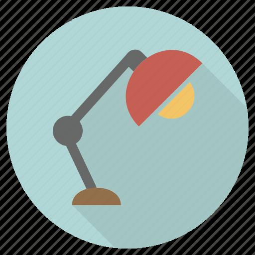 furniture, interior, lamp icon