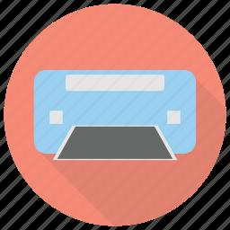 furniture, interior, printer icon