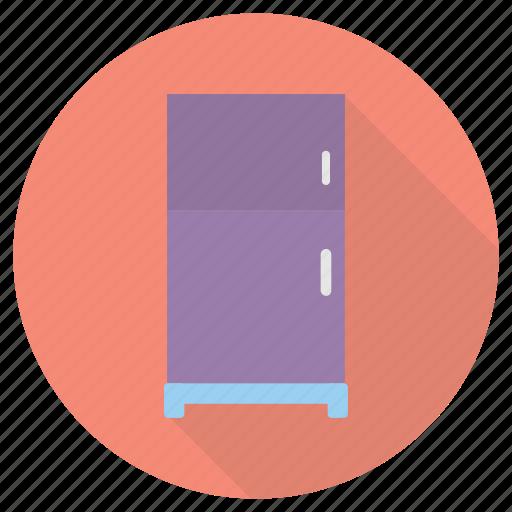 furniture, interior, refridgerator icon