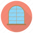 furniture, interior, mirror, window icon
