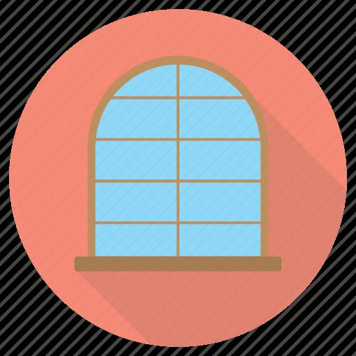 furniture, interior, mirror, window icon