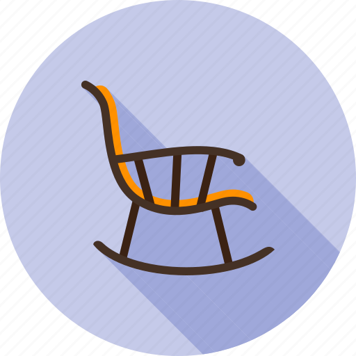 armchair, chair, furniture, relax, rest, rocker, rocking icon