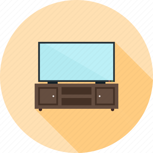 cabinet, old, picture, screen, set, television, tv icon
