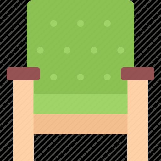 armchair, design, furniture, interior, layout icon