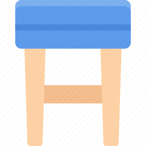 design, furniture, interior, layout, stool icon