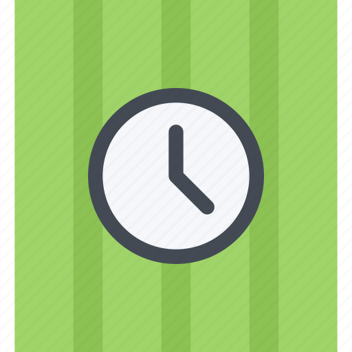 clock, design, furniture, interior, layout, wall icon