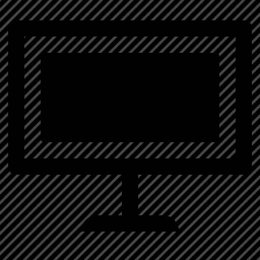 computer, furniture, monitor, screen icon