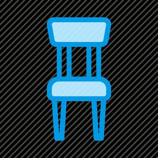 chair, dinner, furniture, interior icon