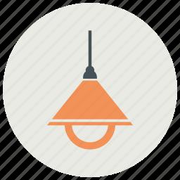 ceiling, corridor, light, lighting icon