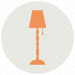 electric, lamp, light, table icon