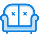 family, furniture, seat, sofa icon