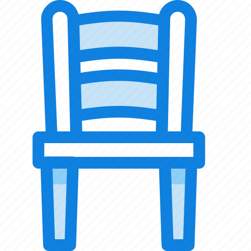 chair, furniture, interior, wooden icon