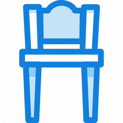 chair, furniture, interior, wooden icon