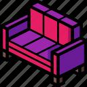 furniture, household, lounge, sofa