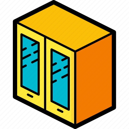 bathroom, cabinet, furniture, household, iso icon