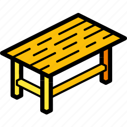 furniture, household, iso, kitchen, table icon