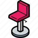 bar, chair, furniture, household, iso, kitchen icon