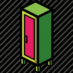 furniture, household, iso, locker icon
