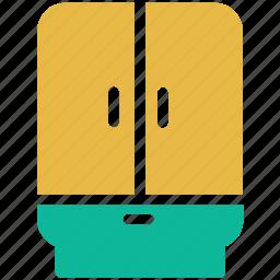 cabinet, cupboard, furniture, wardrobe icon