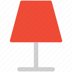 electric, lamp, light, table lamp icon