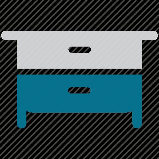 cabinet, drawer, furniture, storage icon