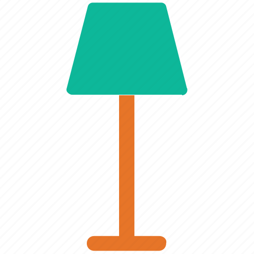 electric, lamp, light, living room lamp icon