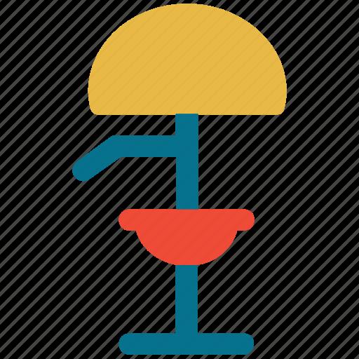 bulb, floor lamp, lamp, light icon